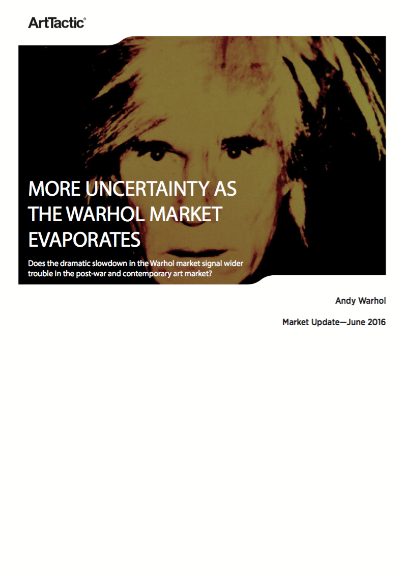 Andy Warhol: Market Update – June 2016