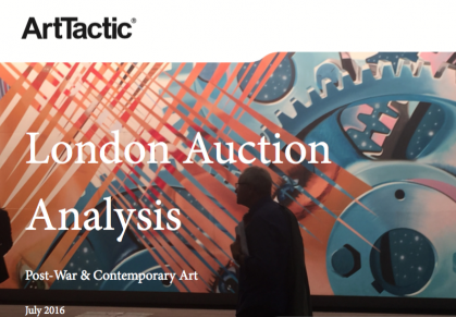 Auction Analysis: London Post-War & Contemporary Sales – June 2016