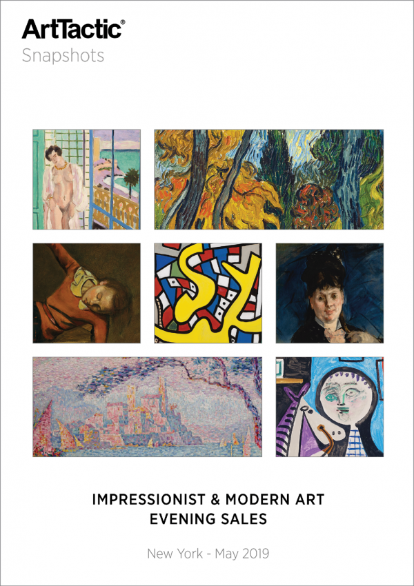 Impressioinist_Modern_Evening_Auctions_May_2019 SNAPSHOTS Cover Framed