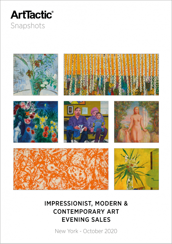 Contemporary, Impressionist & Modern Art_Auctions_New York_October_2020_SNAPSHOTS (Cover – Framed)